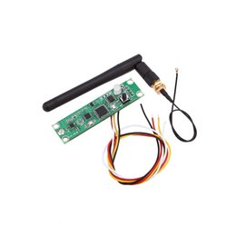 Wholesale Led Controller Boards - Wholesale-Rasha 1X- 2.4G Wireless Receiver,PCB Modules Board with Antenna LED Controller Transmitter Receiver