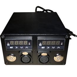 Double compteur de température en Ligne-110v-280v double compteur numérique Chaleur Presse Température Boîte Double PID Contrôleur Relais Relais SSR pour Rosin Press