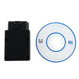 Wholesale Oem Scanner - Wholesale-OEM Car Bluetooth Mini OBD 2 OBD II Code Reader Scanner For iPhone Useful
