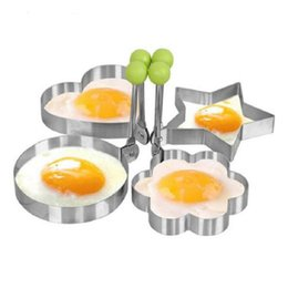 Wholesale Funny Stainless Steel Fried Egg Shaper Pancake Mould Mold Kitchen Cooking Tools Free Shipping von Fabrikanten