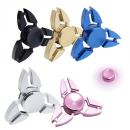 Wholesale Triangle Packaging - Crab Hand Spinner Fidget Spinner Triangle Torqbar Finger Toy EDC Focus ADHD Autism Finger Toys For Fidget Spinner With Retail Package OTH432