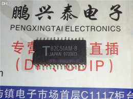 Wholesale Foot Surfaces - 82C51AM-8 . TMP82C51AM-2 , SERIAL COMM CONTROLLER, PDSO28 . Double row surface mount feet SOP Package Integrated circuits ICs   SOP28