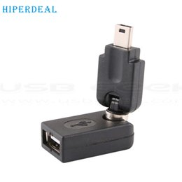 Wholesale Usb Advance - Wholesale- HIPERDEAL Advanced Hot Sales tablets 360 Rotate USB 2.0 Female to Micro USB Male Plug Adapter Converter 1PC