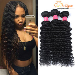 Wholesale Bella Weave - 8A Brazilian Virgin Hair Deep Wave Unprocessed Brazilian Human Hair 3Bundles Bella Hair Products Dyeable Brazilian Deep Wave Weaves