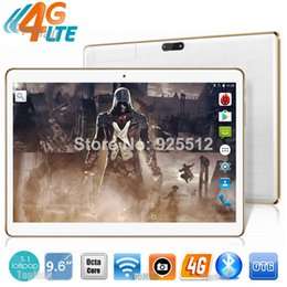 Wholesale Tablet Pc 4g Lte - Wholesale- 9.6 inch Tablet PC Octa Core 3G 4G LTE Phone Call tablet 4GB RAM 32GB ROM Dual SIM Cards GPS Tablets 10 10.1 Free Shipping