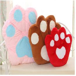 Argentina Venta al por mayor de gran tamaño oso creativo PAWS / PAWS cojín almohada de peluche de juguete para el regalo de cumpleaños de un amigo Suministro