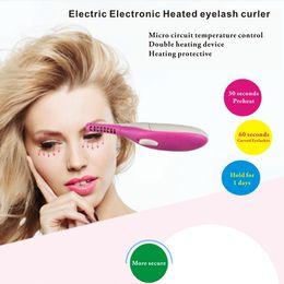 Wholesale Eyelash Perming Curl - Electric Electronic Heated eyelash curler,Lash Curls Enhancer,Perm Effect,Eyelash curler,Eyelash device,Eye makeup,Beauty make-up tools,