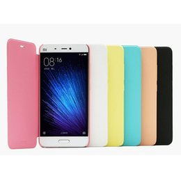 Wholesale Xiaomi Flip Cover - Xiaomi 5 Case , High Quality Flip Leather Coque Case for Xiaomi 5 Mi5 Mi 5 Mobile Phone Pouch Cover Capa Cas Cases Bag