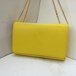 Wholesale Blue Patent Leather Clutch - Wholesale - Hot Sale! High Quality Alligator   Serpentine Chain Messenger Bag Clutches Women Handbag Evening Bag Single Shoulder Bag