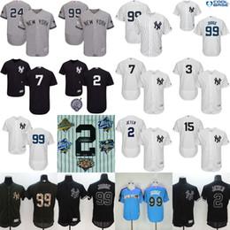 Wholesale Mantle Man - Men's Flexbase New York Yankees 99 Aaron Judge 2 Derek Jeter 24 Gary Sanchez 7 Mickey Mantle Munson 4 lou gehrig Baseball Jersey Stitched