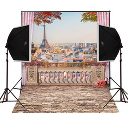 Wholesale Custom Wedding Backdrops - custom 3inches diameter rod pocket photography backdrop for studio camera fotografica wedding photo background digital cloth props