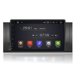 "Wholesale Dvd Car For X5 - 9"" Android 7.1 Car DVD Multimedia Stereo For BMW E39 X5 M5 E53 E38 Radio RDS GPS Navi OBD DVR BT Phonebook WIFI 4G SWC 2G+16G RAM Quad Core"
