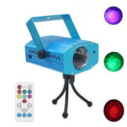 Wholesale Home Party Laser Lights - Edison2011 1PCS 12W AC100-240V RGB Professional Stage Light Water Wave Action Ripple Projector For DJ Laser Party Show Entertainment