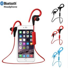 Wholesale Tours Ear Phones - BT-1 Tour Earphone Bluetooth Sport Earhook Earbuds Stereo Over-Ear Wireless Neckband Headset Headphone with Mic for Universal Cellphone