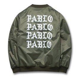Wholesale Life Jackets Pockets - spring Yeezus Jackets I feel like Paul Pablo Kanye West The Life Of Pablo Kanye MA1 Bomber Jackets Brand male Bombers Coats Men