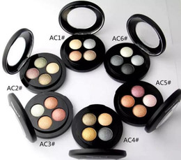 Wholesale High Products - FREE GIFT HOT high quality Best-Selling Newest Products Makeup MINERALIZE 4 COLORS EYESHADOW