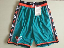 Wholesale Men S Classic Sweatpants - 1996 All-Star Green Basketball Shorts Men's Shorts New Breathable Sweatpants Teams Classic Sportswear Basketball Pant