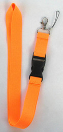 Wholesale Orange Neck Chain - Hot!10pcs New Design Orange Solid Blank neck Lanyard for ID Key chain Cell Phone, Neck Strap Lanyards