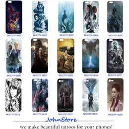 Wholesale Game Cover Iphone - Game of Thrones Cartoon Design TPU Phone Case DIY Phone Cover For iPhone 6S 6Plus X 7 8 8Plus 6Plus 7Plus