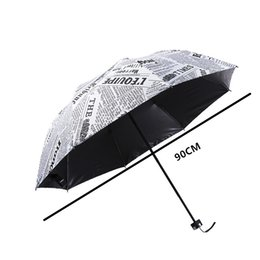 Wholesale Newspaper Pencils - The Sun Rain Parasols Umbrella Novelty Items Pencil White color Newspaper Umbrellas