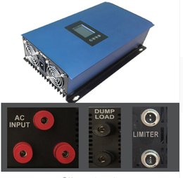 Wholesale Inverter Tie Wind - Free shipping for Second Generation, 2000W Wind Power Grid Tie Inverter three phase