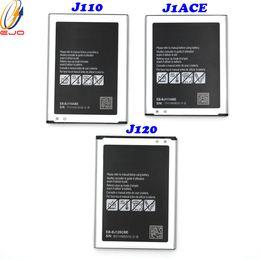 2019 probando la batería del iphone Batería de alta calidad del proveedor J111 de la batería del teléfono celular, batería Samsung Galaxy J1ACE / J110 / J120 Akku 50pcs