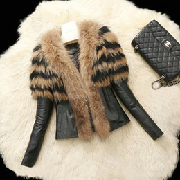 Wholesale Women Warm Winter Coat Fur - 6XL Plus Size 2016 Winter New Fashion Faux Fur Jackets for Women Winter Coats Warm Long Sleeves Fur Coats Outwears FS0940