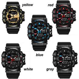 Wholesale Digital G Shock Sport Watch - Popular Mens Summer G Sports GA110 Watches LED Waterproof Climbing Digital S Shock Men 100 Watch All Pointer Work 3009002