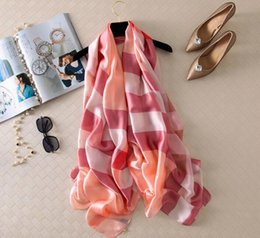Wholesale Wholesale Capes For Women - New Fashion Scarf Shawls and Scarves for Women grid autumn Scarf Women soft Prevent bask in cape 17