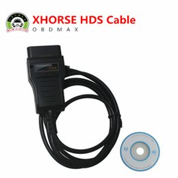 Wholesale Hds Honda Diagnostic System - Original Xhorse HDS Cable OBD2 Diagnostic Cable with 7 languages for choosing and freeshipping