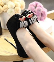 Wholesale Bow Pink Peep Toe - Wholesale New Arrival Hot Sale Specials Super Influx Leather Stars Peep Toe T Stage Knight Suede Diamond Bow Party Heels Sandals EU34-39