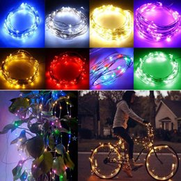 Wholesale Micro Stage - LED Starry String Lights Fairy Micro LEDs Copper Wire Battery Powered for Party Christmas Wedding Lights Strip Stage decoration Fast delive
