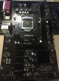 Wholesale Intel Pro Desktop - ASRock H81 Pro BTC ETH LGA 1150 i7 i5 i3 for Xeon Pentium Celeron DDR3 Motherboard