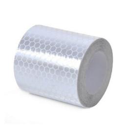 Wholesale Color Vinyl Tape - cm car sticker reflective sticker reflective tape for warning,car-styling,protection, for car motorcycle babycar automobile wholesale re...