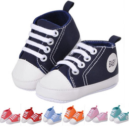 Wholesale Cheap Infant Shoes Wholesale - Hot-selling ! 2017 cheap wholesale Kids Baby Sports Shoes Boy Girl First Walkers Sneakers Baby Infant Soft Bottom walker Shoes 10pair 20pcs