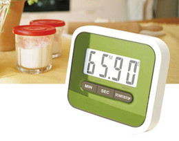 Wholesale Kitchen Cooking Alarm Clock - Large Multifunction LCD Kitchen Cooking Timer Count-Down Up Clock Loud Alarm Magnetic