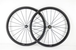 Wholesale Cheap Bike Hubs - Factory sale Good quality and cheap 3K UD 1K road bike 38mm carbon wheels with 20.5mm Novatec A271 hubs free shipping