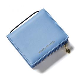 Wholesale Fashionable Credit Card Holders - Wallet female short paragraph Japan Korea style fashionable multi-card bit cute little fresh mini student purse