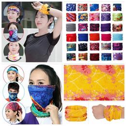 Wholesale Cycle Headwear - 205 Styls bike motorcycle helmet face mask half mask Headwear Neck cycling pirate headband hat cap halloween mask YYA434