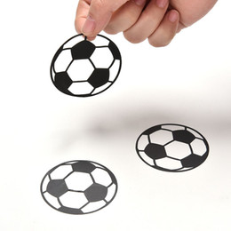 Wholesale Boys Wall Art Stickers - 20PCS Set Personalized Football Soccer Ball wall sticker sports boys bedroom art vinyl Wall Sticker For Kids Rooms Nursery Decor