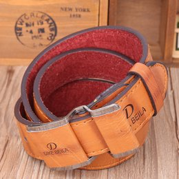 Wholesale Cinturones Vintage - Fashion vintage men belts for women brand hot embossing cow genuine leather,metal pin buckle hip belts,cinturones mujer free shipping