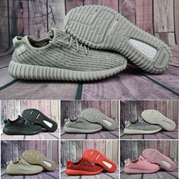 Wholesale Low Cut Training Shoes - 2017 Cheap Wholesale Discount Kanye West Y Boost 350 Pirate Black Low Sports Running Shoes Women & Men Sneakers Training Y 350 Boots