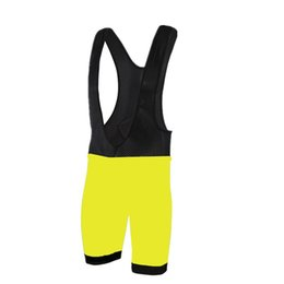 Wholesale Fluorescent Shorts Women - 2017 Mens Fluorescent Culotte Cycling Bib Shorts Summer Coolmax Gel Pad Bike Tights Mtb Ropa Ciclismo Moisture Wicking short Pants