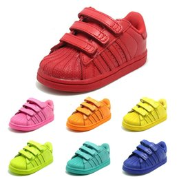 Wholesale Girls Cheap Patent Shoes - Breathable Kids Sports Shoes stan smith superstar with DMX Technique for Outdoor Cheap Children Running Shoes for Boys and Girls Shoes