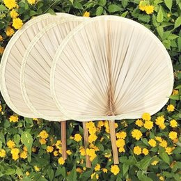 Wholesale Yellow Tang Shipping - Package Edge Palm Leaf Fan Natural Banana Leaf manual pollution-free health fan View Point Fan free shipping