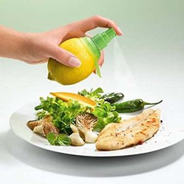 Wholesale Fruit Sprayer - 1PC Creative Gadgets Lemon Sprayer Mutfak Fruit Juice Citrus Spray Cooking Tools Cocina Criativa Kitchen Accessories