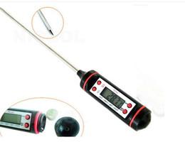 Leggere il termometro online-BBQ Termometro digitale Cucinare Sonda alimentare Termometro per alimenti Carne Termometro Cucina Temperatura digitale istantanea Leggere strumenti alimentari
