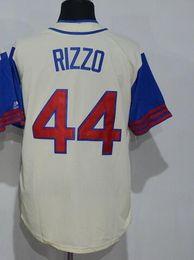 Wholesale Cheap Baseball Style Jerseys - CUBS 44 RIZZO Baseball Jerseys,discount cheap 22 HEYWARD Baseball Wear tops,Player Style featuring personality 23 SANDBERG Baseball clothing