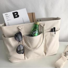 2017 qualité nouvelle Corée ins mode personnalité sac à bandoulière en toile, multi-compartiment sac toile Messenger grande capacité grand sac sac à main ? partir de fabricateur