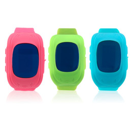 Wholesale Emergency Calling - Wholesale- Durable Children Kids Smart Watch Q50 Accurate Locator Tracker SOS Emergency Anti-Lost Smart Wrist Watch For Android